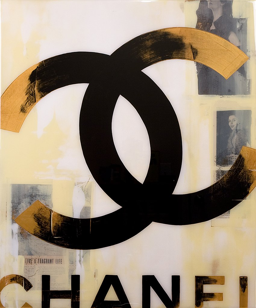 Chanel: Fragrant Life 30x36 - SOLD